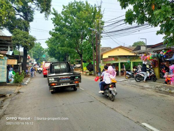 Di Jual Cepat Rumah Murah di jalan raya CIRACAS ada KIOS dan kontrakan